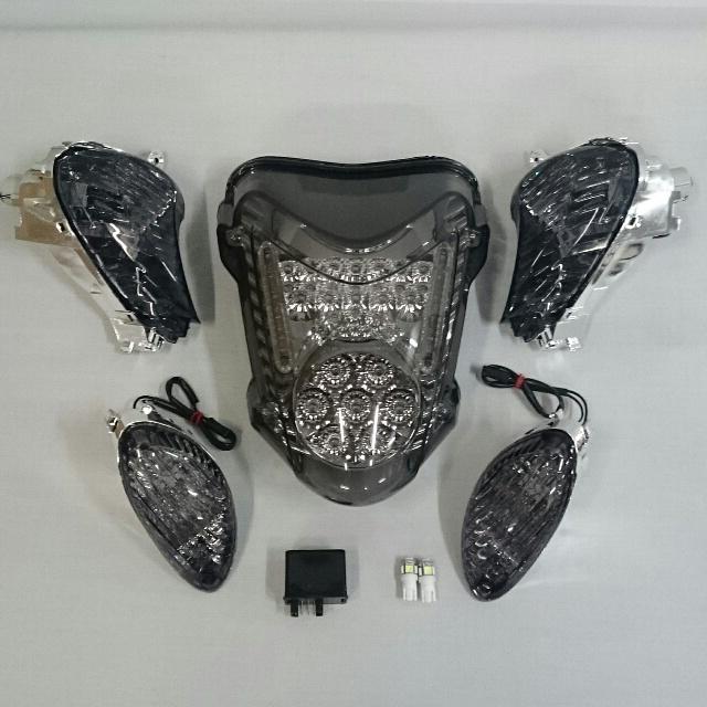 バイク用品 電装系オダックス ODAX LEDスモークレンズ・アルティメットキット GSX1300Rハヤブサ 08-17OXS-GSX13DFCK-S 4589491166625取寄品 セール