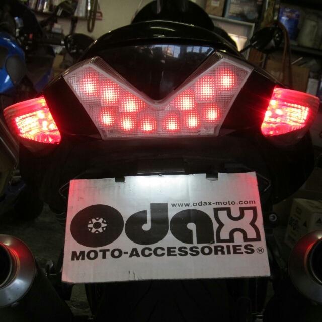 バイク用品 電装系オダックス ODAX バックフォグ RY-S ZX-14R 12-OXS-ZX14009-RY-S 4589491167448取寄品