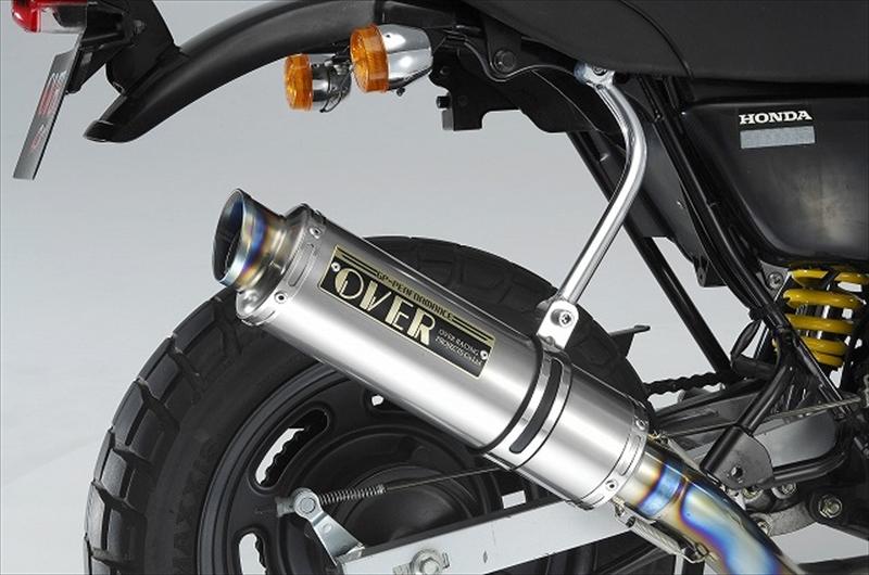 バイク用品 マフラーオーヴァーレーシング OVERRACING GPパフォーマンス フルチタンマフラー APE100 -0741596 4539770086472取寄品 スーパーセール