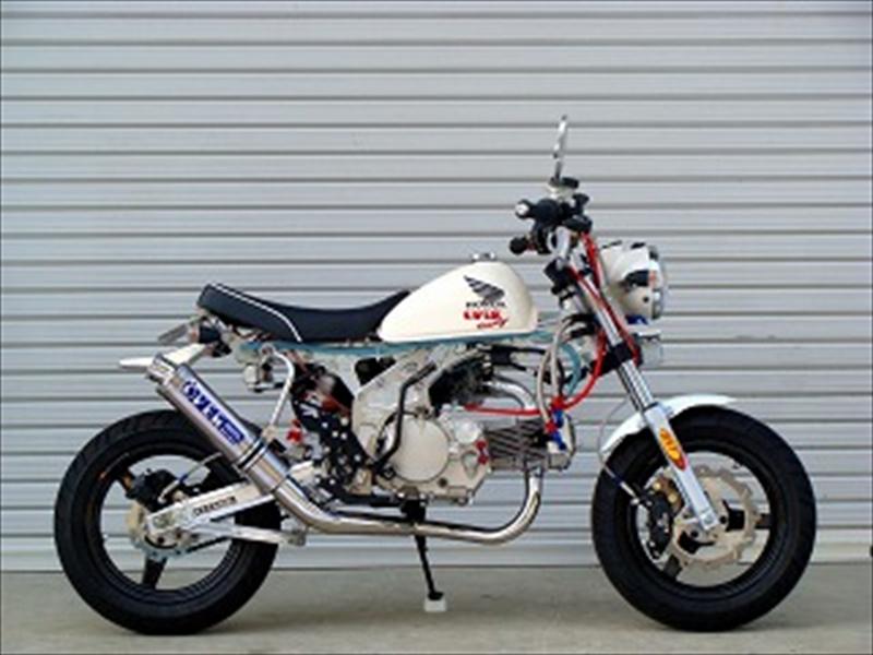 バイク用品 マフラーオーヴァーレーシング OVERRACING RACING DOWN チタン MONKEY13-01-36 4539770096952取寄品 スーパーセール