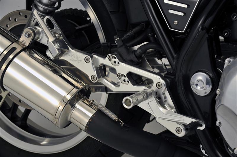 バイク用品 ステップオーヴァーレーシング OVERRACING バックステップ 4POS CB1100 10-16 EX 14-1651-18-01 4539770103384取寄品 スーパーセール