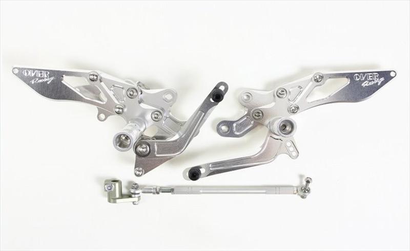 バイク用品 ステップオーヴァーレーシング OVERRACING バックステップ 4POS ZX-14R51-85-01 4539770107320取寄品 スーパーセール