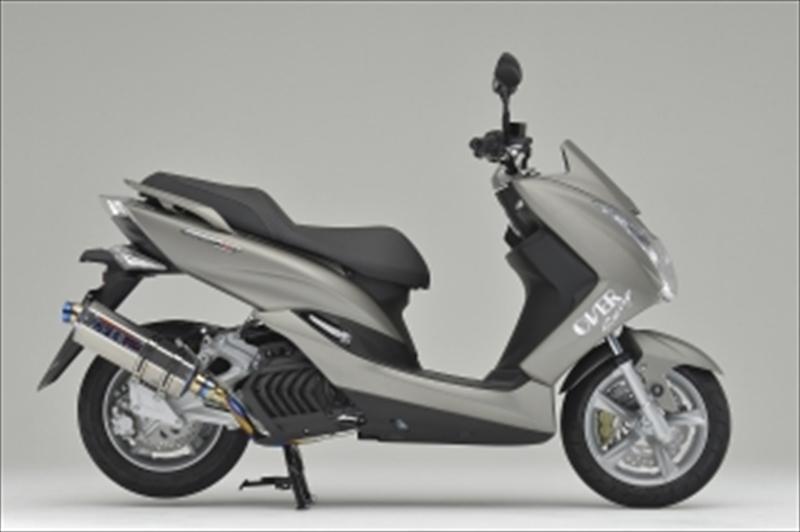 フルチタン TT-Formula 4539770111525取寄品 1816-52-03 MAJESTY-S バイク用品 14-17 OVERRACING マフラーオーヴァーレーシング