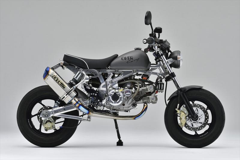 バイク用品 マフラーオーヴァーレーシング OVERRACING TT-Formula RS フルチタンマフラー MONKEY13-01-50 4539770114045取寄品 スーパーセール