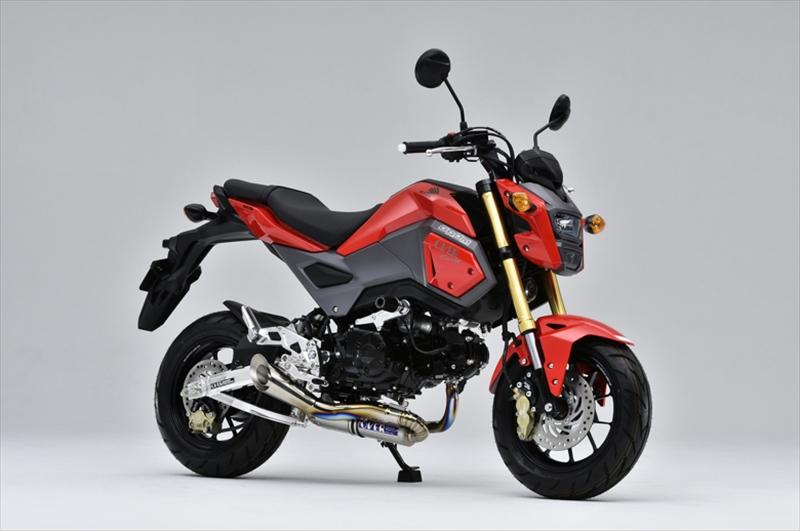 バイク用品 マフラーオーヴァーレーシング OVERRACING スパイラル フルチタン GROM 13-1613-22-23R 4539770114205取寄品 スーパーセール
