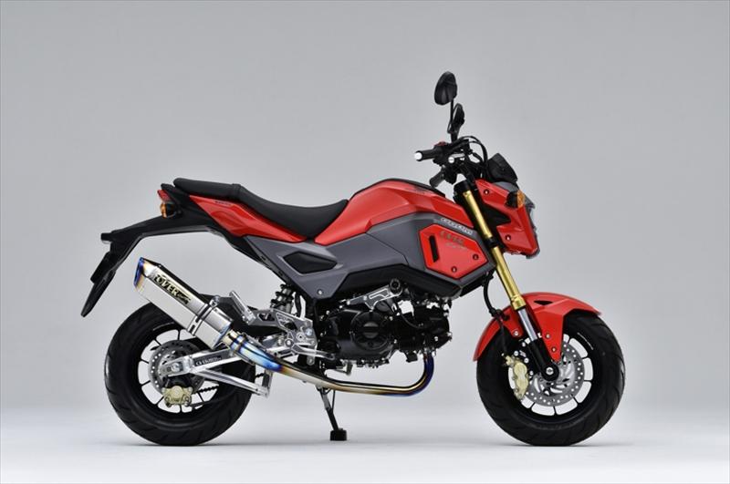 <title>バイクパーツ モーターサイクル オートバイ バイク用品 マフラーオーヴァーレーシング OVERRACING 訳あり商品 TT-Formula RS フルチタン GROM 16- 13-1516-22-051 4539770114793取寄品</title>