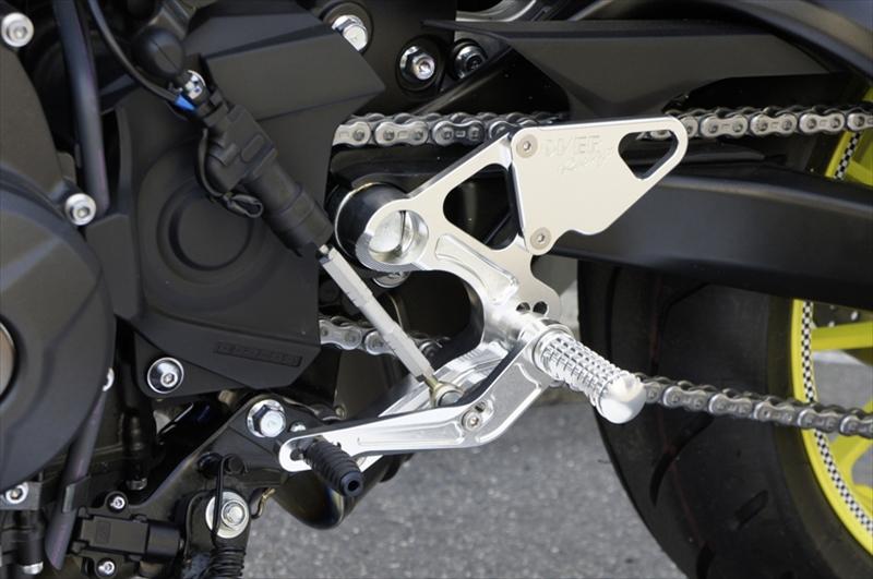 バイク用品 ステップオーヴァーレーシング OVERRACING バックステップ SIL MT-09 17-51-451-01 4539770115851取寄品 スーパーセール