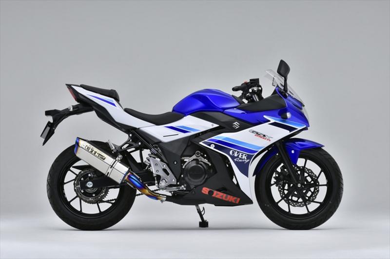 バイク用品 マフラーオーヴァーレーシング OVERRACING TT-Formula RS フルチタン S O GSX250R17-57-11 4539770115912取寄品 スーパーセール