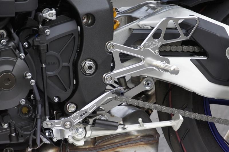 バイク用品 ステップオーヴァーレーシング OVERRACING バックステップ 4P SIL MT-1051-31-01 4539770116131取寄品 セール