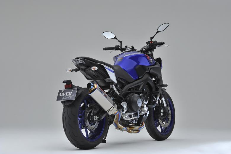 バイク用品 マフラーオーヴァーレーシング OVERRACING TT-Formula フルチタン 3-1 MT-09 1725-451-01 4539770116667取寄品 スーパーセール