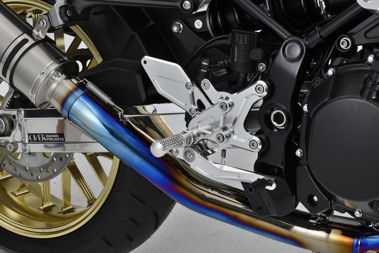 バイク用品 ステップオーヴァーレーシング OVERRACING バックステップ 4P SIL Z900RS51-71-01 4539770116957取寄品 セール
