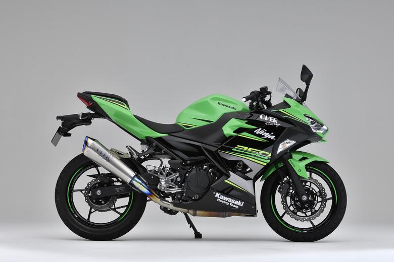 バイク用品 マフラーオーヴァーレーシング OVERRACING TT-Formula RS+PRO チタン S O Ninja250 1817-693-05 4539770117268取寄品 スーパーセール