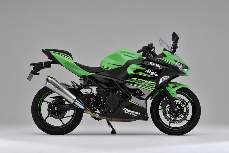 バイク用品 マフラーオーヴァーレーシング OVERRACING TT-Formula RS+PRO チタン S O Ninja400 1817-722-05 4539770117336取寄品 スーパーセール