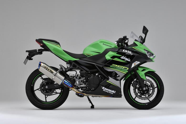 バイク用品 マフラーオーヴァーレーシング OVERRACING TT-Formula RS フルチタン 2-1 Ninja250 1825-693-11 4539770117558取寄品 スーパーセール