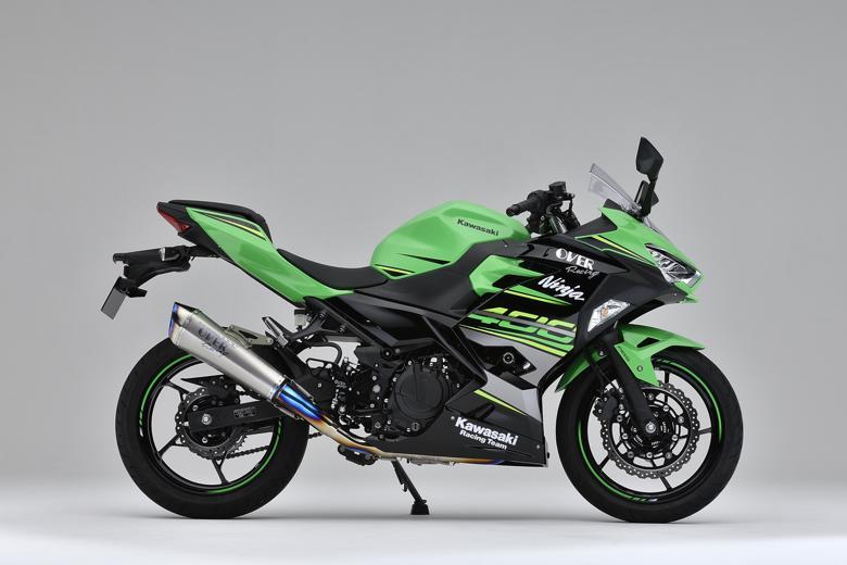 バイク用品 マフラーオーヴァーレーシング OVERRACING TT-Formula RS+PRO チタン 2-1 Ninja400 1825-722-12 4539770117596取寄品 スーパーセール