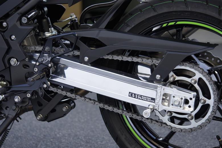 バイク用品 サスペンション&ローダウンオーヴァーレーシング OVERRACING スイングアーム Type-7 Ninja250 1852-693-07 4539770117695取寄品 スーパーセール