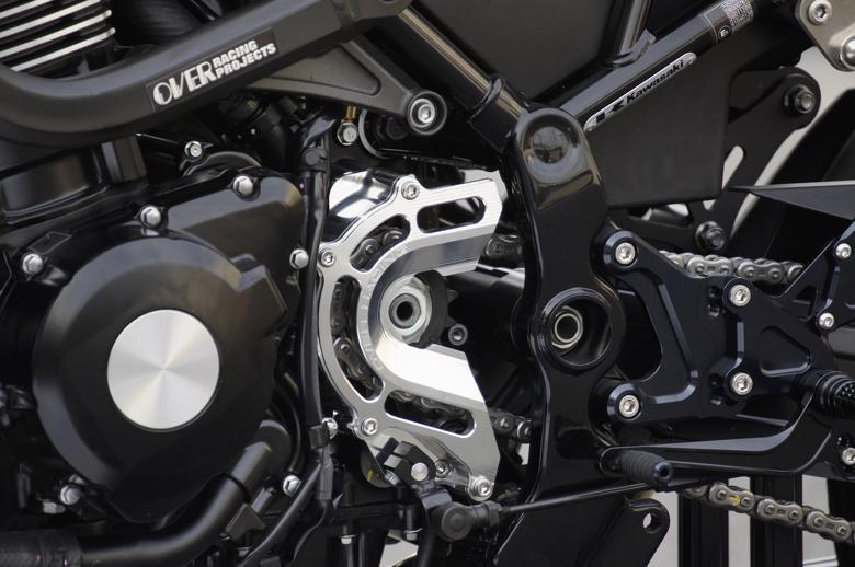 バイク用品 駆動系オーヴァーレーシング OVERRACING スプロケットカバー BLK Z900RS57-71-11B 4539770117749取寄品 スーパーセール