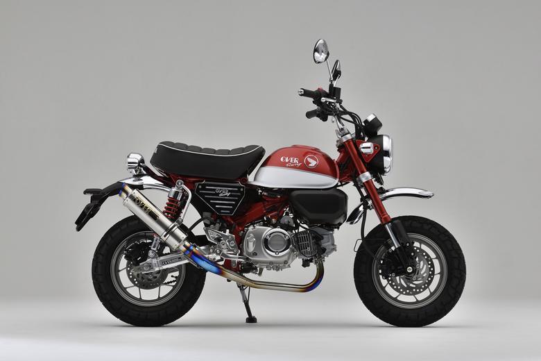 バイク用品 マフラーオーヴァーレーシング OVERRACING GP-PERFORMANCE フルチタン MONKEY12516-012-25 4539770118074取寄品 スーパーセール