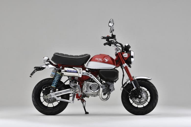 バイク用品 マフラーオーヴァーレーシング OVERRACING ステンオーバル アップマフラー MONKEY12516-012-01 4539770118326取寄品 スーパーセール