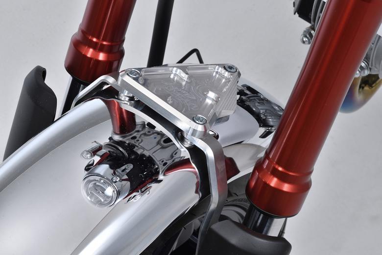 バイク用品 外装オーヴァーレーシング OVERRACING フロントフェンダー マウントステー MONKEY12557-012-22 4539770118357取寄品 スーパーセール