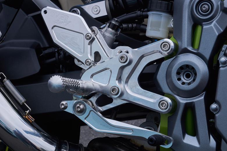 バイク用品 ステップオーヴァーレーシング OVERRACING バックステップ 4ポジション シルバー Z900 1851-83-01 4539770118531取寄品 スーパーセール