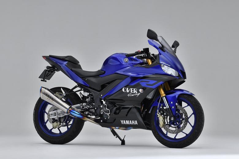 バイク用品 マフラーオーヴァーレーシング OVERRACING TT-Formula RS+PRO チタン 2-1 YZF-R25 19-25-351-12 4539770119026取寄品 スーパーセール
