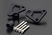 バイク用品 外装PMC ピーエムシー エンジンマウントキット ブラック Z1000R74-3204 4547567986492取寄品 セール