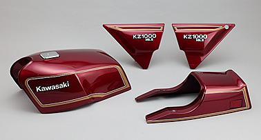 バイク用品 外装PMC ピーエムシー サイドカバー右 ペイント済 RED Z1000MK282-36072 4548664557141取寄品 セール