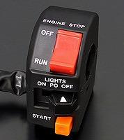 バイクパーツ モーターサイクル オートバイ 特別セール品 バイク用品 本日限定 電装系PMC ピーエムシー 4548916058181取寄品 セール 右 OWタイプハンドルSW 常時点灯71-1010 GPZ1100F