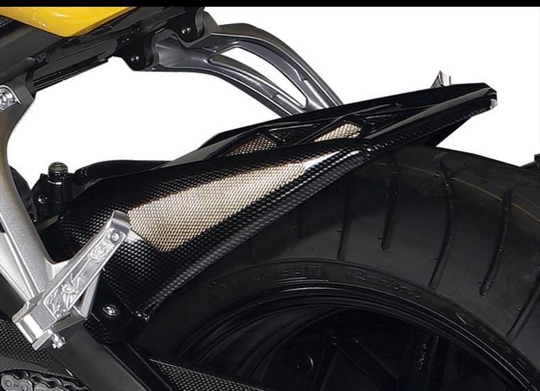 バイク用品 外装POWERBRONZE パワーブロンズ リアフェンダー BLK メッシュSLV FZ1 FAZER 06-15 FZ8 10-15301-Y105-603 4548664503896取寄品 セール