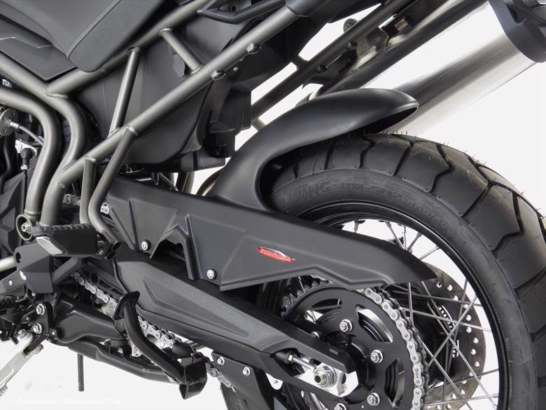 バイク用品 外装POWERBRONZE パワーブロンズ リアフェンダー BLK(ノンメッシュ) Tiger 800 XC 07-12300-T105-003 4548916028115取寄品 セール