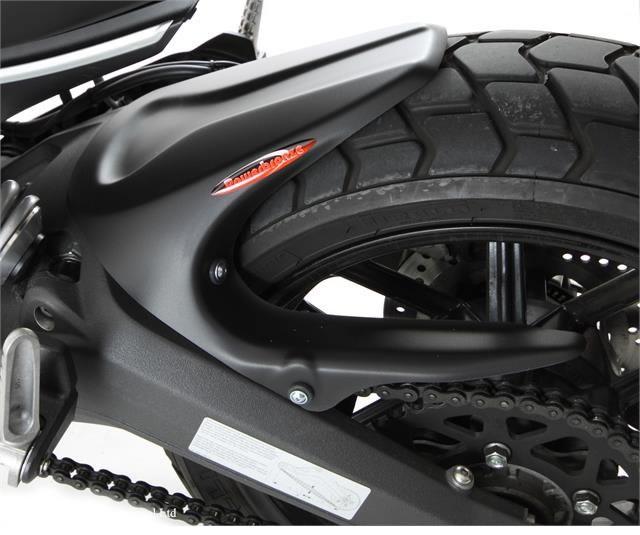 バイク用品 外装POWERBRONZE パワーブロンズ リアフェンダー マットBLK Scrambler 15-300-D102-070 4548916706297取寄品 セール