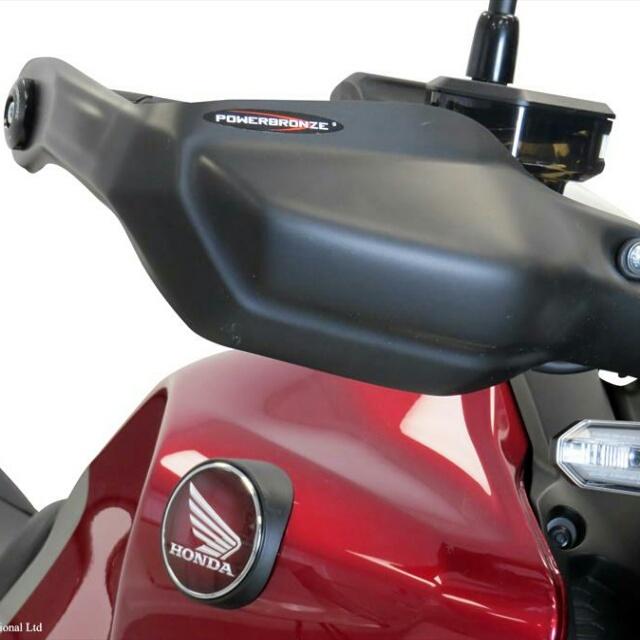 バイク用品 ハンドルPOWERBRONZE パワーブロンズ ハンドガードキット CB250R 18- M.BLK380-H115-070 4550255231187取寄品 セール