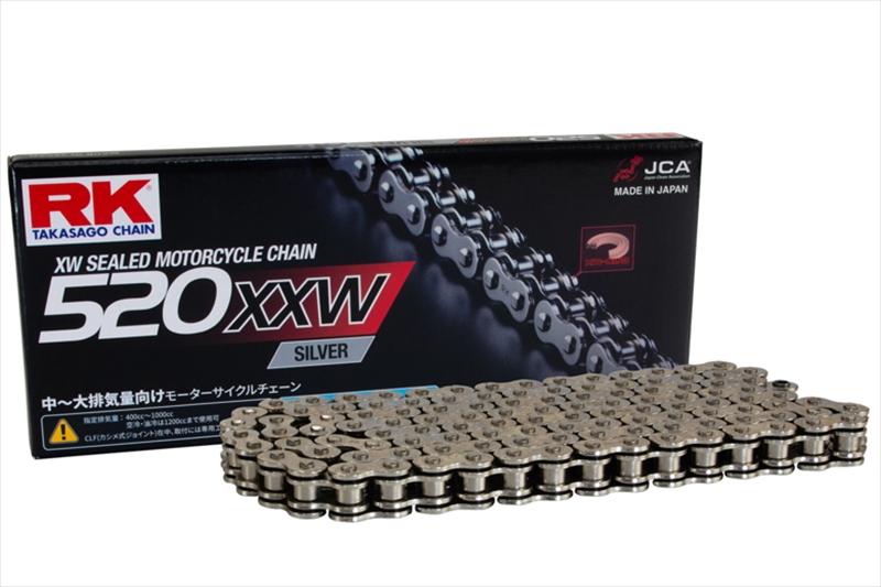 バイクパーツ モーターサイクル オートバイ バイク用品 駆動系RK CHAIN RKチェーン SV520X-XW チェーン 120LSV520X-XW 4935531345091取寄品 セール