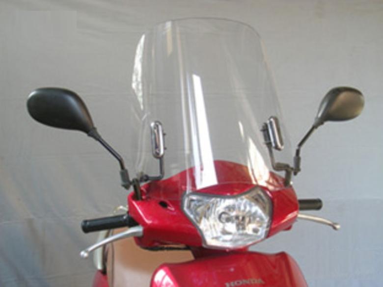 旭風防 ウインドシールド LE-03 《シールド バイク用 スクーターシリーズ LE-03 リ-ド110》