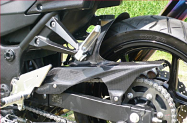 【COERCE】【コワース】【バイク用】RS リアフェンダー 外装 NINJA250R 外装 カーボンモデルモデル【0-42-CRFC4213】【送料無料】