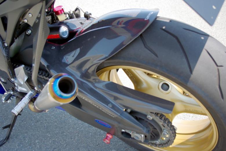 【COERCE】【コワース】【バイク用】RSリアフェンダー CBR1000RR -2010【0-42-CRFB1114】FRP 黒ゲル