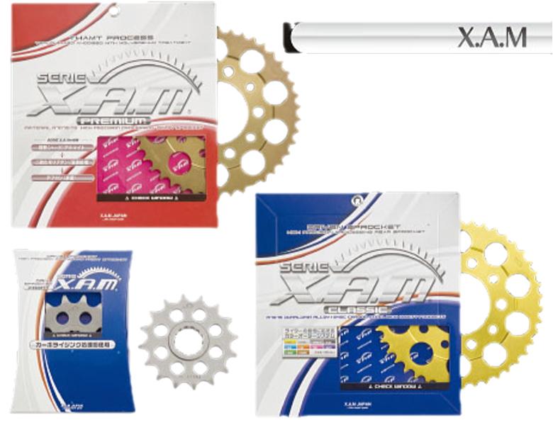 【X.A.M】【ドリブンスプロケット】【YAMAHA】XJR400/R93〜リア【A4120】