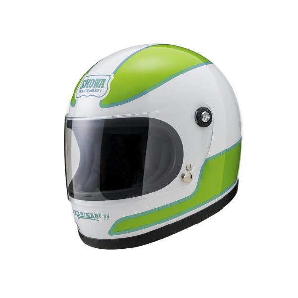 山城 レトロヘルメット KAMINARI 《ヤマシロ ジェットヘルメット YKH02》