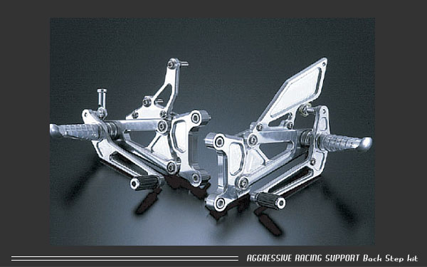 【アグラス】【バイク用】バックステップキット 4ポジションYZF-R1 98-01【312-254-000】【送料無料!】
