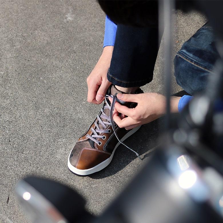 バイク用品迷彩カジュアルライディングシューズ普段履きスニーカー初心者おしゃれ春夏秋冬カモフラージュメンズレディースユニセックスSCOYCO(スコイコ)MT016-2CAMO
