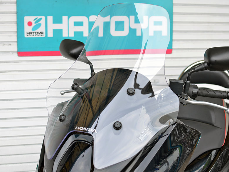 【AUTUMN SALE】ホンダ FAZE 用 ロングスクリーン フェイズ HONDA MF11 【送料無料!】※シールドキットのみの販売です。車両本体は付属しません。