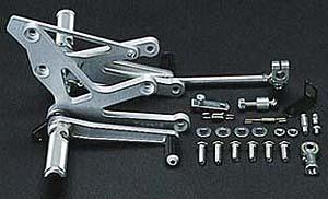 【COERCE】【コワース】【バイク用】フィクスドレーシングステップ ZXR250/R【0-6-BK02】