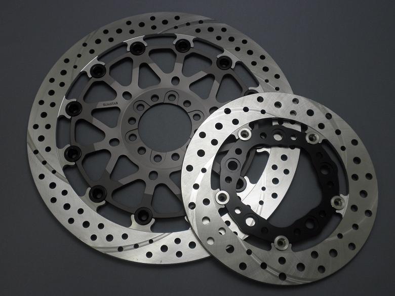 バイク用品 ブレーキ クラッチSUNSTAR BRAKE サンスター ワークスEx セミフローティング 右 SUZUKI 310mm 5.5tWT228WR 4580117118103取寄品 セール