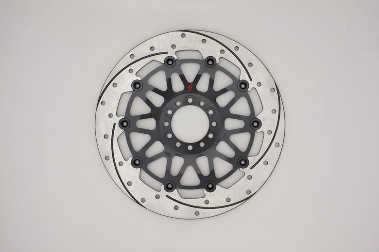 バイク用品 ブレーキ クラッチSUNSTAR BRAKE サンスター プレミアムレーシング L ホール&スリット 5mm フラットEM102FL 4580309456211取寄品 セール
