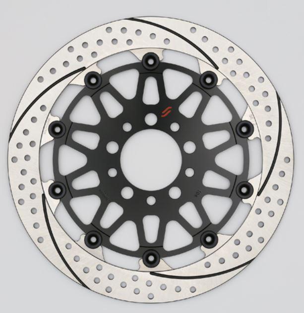バイク用品 ブレーキ クラッチSUNSTAR BRAKE サンスター プレミアムR ホールスリット R φ320 GSX1300R(-07)EM124FR 4580309456846取寄品 セール