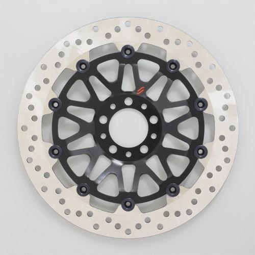 バイク用品 ブレーキ クラッチSUNSTAR BRAKE サンスター プレミアムR ホール CB750FC(φ320)ピン:ブラックLM109F 4589718987149取寄品 セール