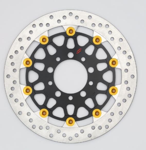 バイク用品 ブレーキ クラッチSUNSTAR BRAKE サンスター プレミアムR 5.5mm セミフローティング ZRX1200DAEGLM227W-GD 4589719000946取寄品 セール