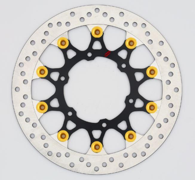 バイク用品 ブレーキ クラッチSUNSTAR BRAKE サンスター プレミアムR ホール GSX-S1000(φ310)ピン:ゴールドLL219F-GD 4589719002513取寄品 セール