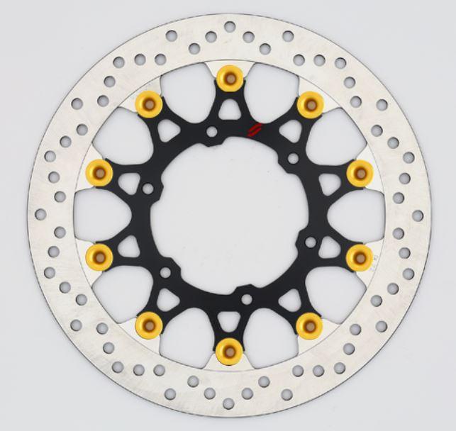バイク用品 ブレーキ クラッチSUNSTAR BRAKE サンスター プレミアムR ホール GSX-S1000(φ310)ピン:ゴールドLL239W-GD 4589719002544取寄品 セール
